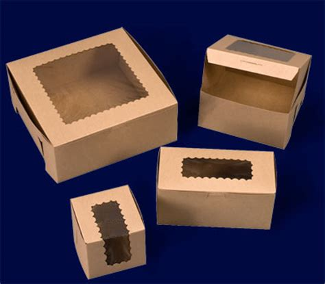 pastry boxes with windows ohio valley kraft windowed cupcake boxes