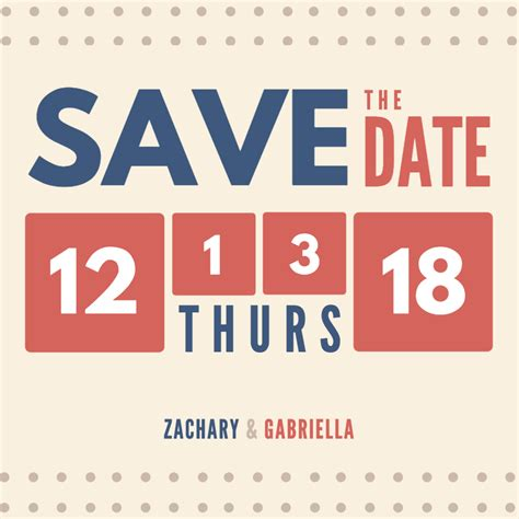 Free Email Invitations For Any Occasions Canva Hold The Date Templates