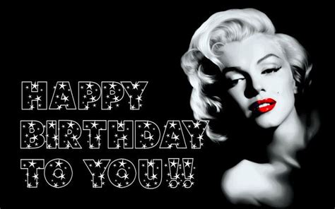 Marilyn Birthday Quotes Happy Birthday Marilyn Monroe By Rita Mell Pinterest