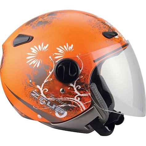 zeus 210 k neon orange helmet motorcycle accessories helmets zeus zs 210b helmet