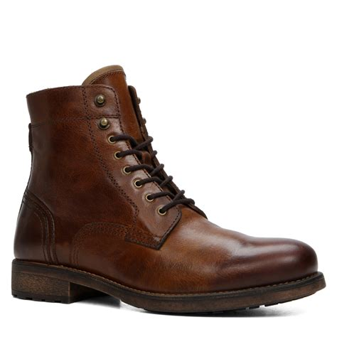 aldos boots for aldo etausen leather ankle boots in brown for lyst