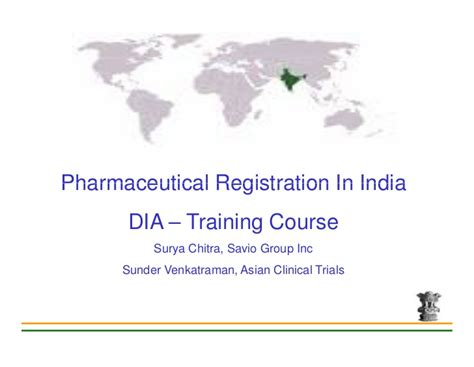 Mba In Pharmaceutical Companies In India by Pharmaceuticals Registration In India