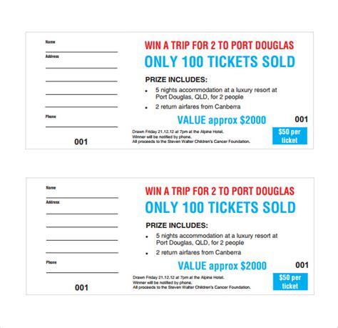 template for raffle tickets with numbers oyle kalakaari co