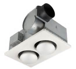broan 164 type ic infrared two bulb ceiling heater with 4