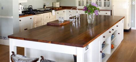 kitchen island worktop norfolk oak bespoke hardwood kitchens worktops joinery