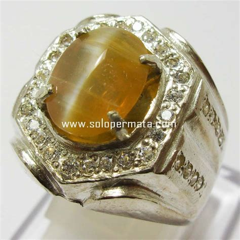 Batu Cat 9 batu permata opal cat eye kode 17l02 toko batu
