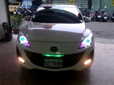 Mazda3 At Light by Mazda3 Led Rider Lights