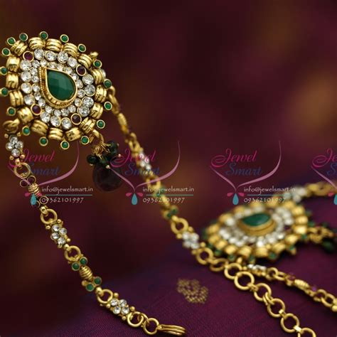Handmade Bajuband v6206 antique low price traditional vanki baju band artificial jewellery