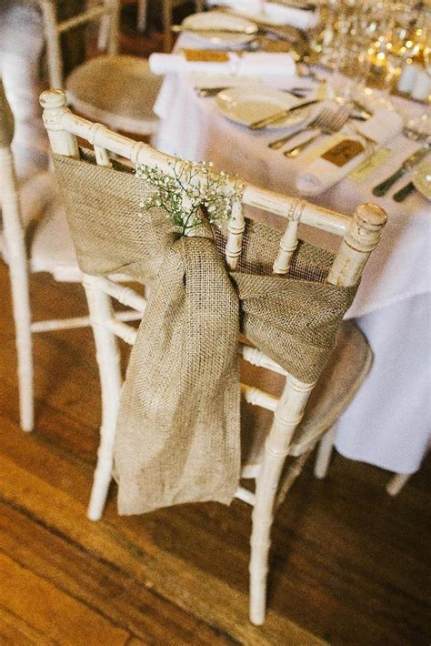 Preloved   £60  Hessian chair sash x 60 for sale in