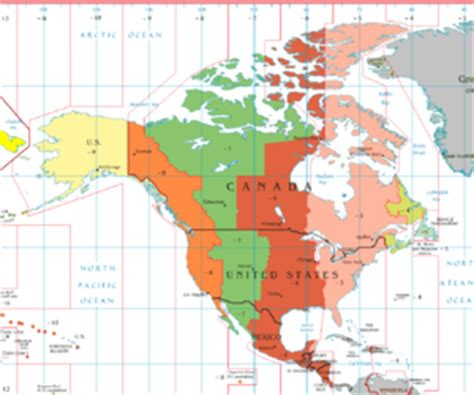us time zone map with alaska alaska time zone