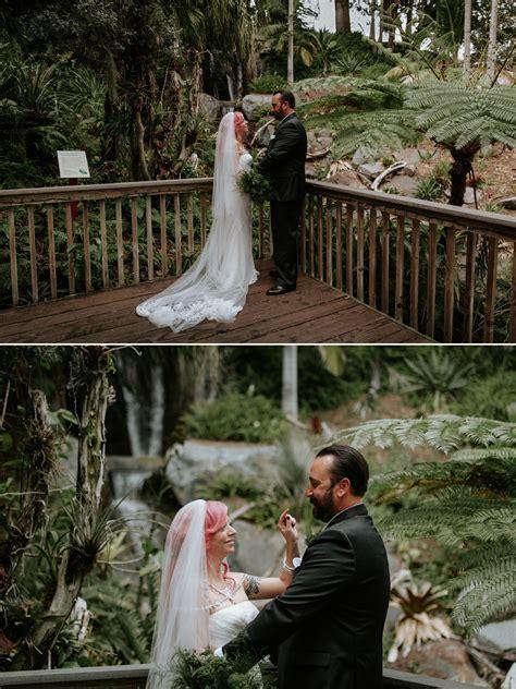 intimate san diego botanic garden wedding nelson