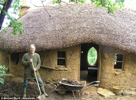 How To Build A Cottage House how to build a hobbit house daily mail online