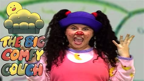 the big comfy couch funny faces wobbly the big comfy couch season 2 episode 3 youtube