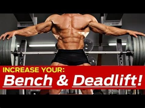 How To Increase Bench Press Deadlift Killer Strength Training Workout