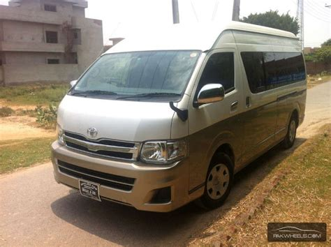 Toyota Cabin For Sale Used Toyota Hiace Grand Cabin 2012 Car For Sale In Lahore