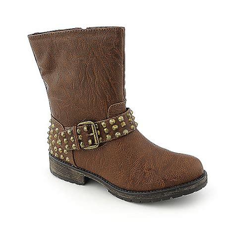 shiekh rocker 12s womens studded boot