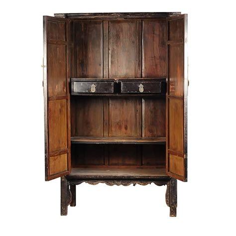 Cabinet Lacquer Refinishing by Pair Of 19th Century Black Lacquer Cabinets With