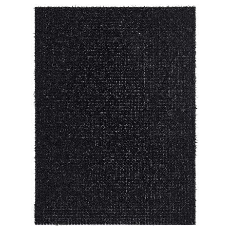 ydby door mat in outdoor black 58x79 cm ikea
