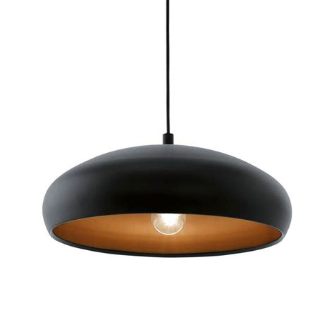 eglo pendant light eglo eglo black and copper mogano 1 pendant light copper