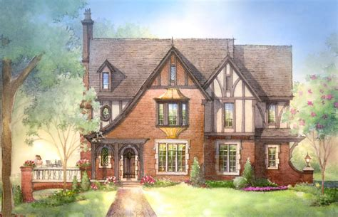 English Tudor Home Plans | quaint english cottage house plans joy studio design