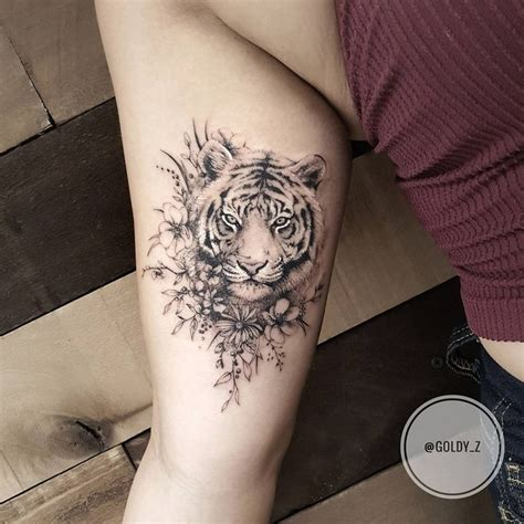 tiger and flower tattoo designs best 25 tiger ideas on white tiger