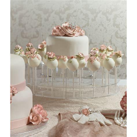 Blush Wedding Cake Pops   DecoPac