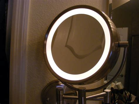 mirrors with lights on them makeup vanity with lights ideas all about house design