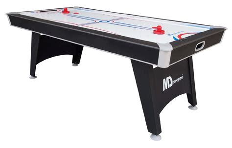 md air hockey table md sports 1418432 tournament cup 7 ft air hockey
