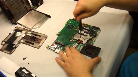 hp laptop fan not working how to replace laptop heat fan on a hp cq61