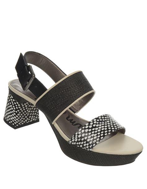sam edelman keira leather open toe platform sandals in