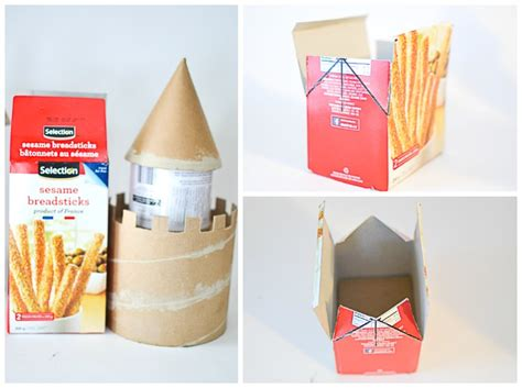 How To Make A Paper Castle By Steps - diy make a castle from recyclable materials adventure in