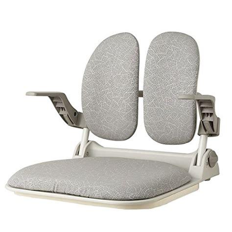 portable floor chair duorest dr 930gf lip gray ergonomic portable folding