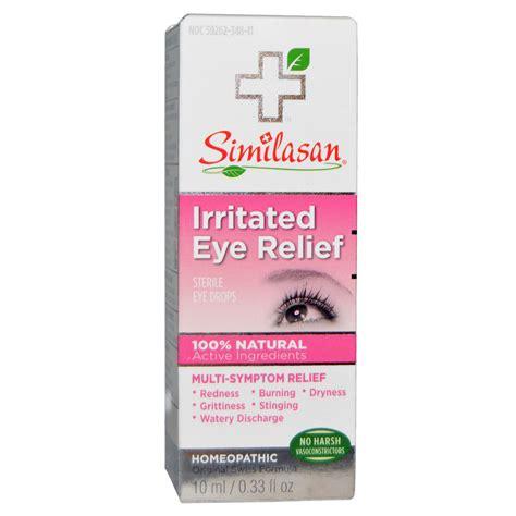 eye drops similasan irritated eye relief sterile eye drops 0 33 fl oz 10 ml iherb