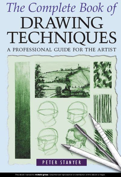 drawing complete question answer handbook books stanyer the complete book of drawing techniques a