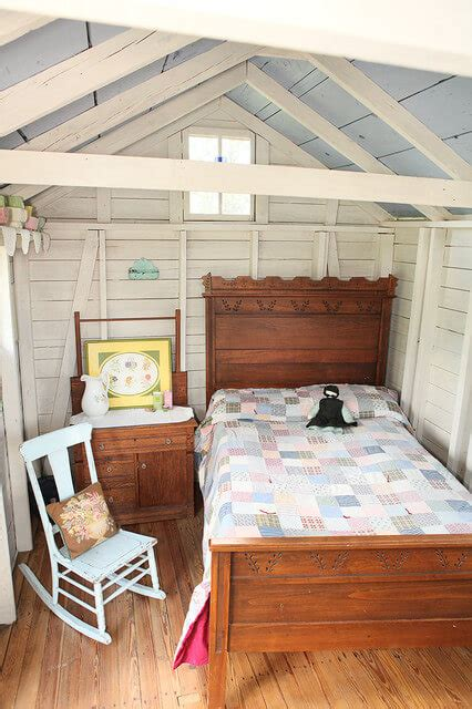Backyard Casita Plans Converting Your Shed Into A Guest House For The Holidays