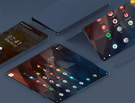 samsung foldable phone surface andromeda microsoft lead the foldable smartphone revolution fjoddes net