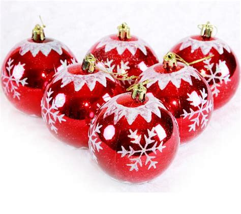 8 cm a variety of types christmas decorations painting
