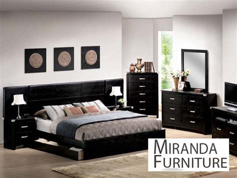 Black King Bedroom Set by Black Finish Eastern King Bedroom Set Mirandafurniture