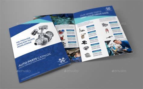 catalog page template auto parts catalog brochure bundle template by owpictures