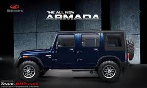 mahindra new car new mahindra armada for 2016 team bhp