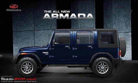 mahindra armada new mahindra armada for 2016 team bhp