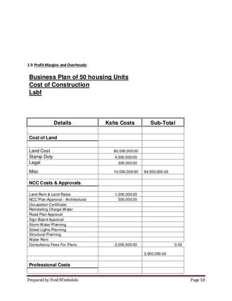 House Plans In Kenya real estate business plan in kenya