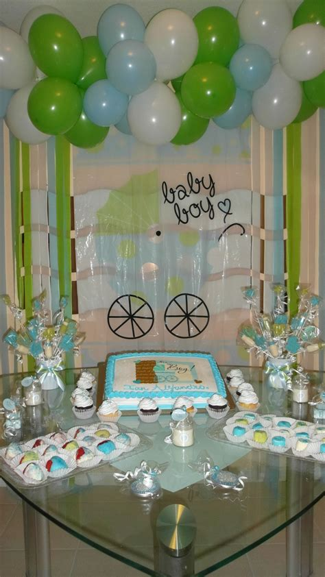 Tree For Baby Shower by Baby Shower Boy Decoration Http Www Dollartree