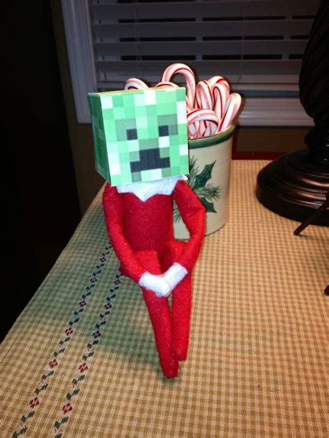 minecraft printable for elf on the shelf elf on a shelf minecraft elf elf on a shelf elf on