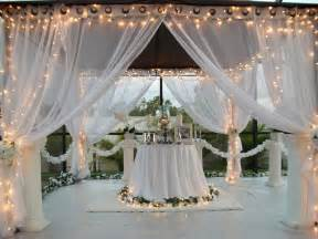 Outdoor Canopy Curtains Patio Pizazz Outdoor Gazebo White Wedding Drapes Price Includes 2 Panels Ebay