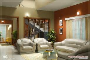 Home Living Room Interior Design by Beautiful Living Room Rendering Kerala Home Design And