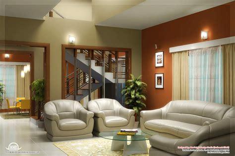 beautiful living room rendering kerala home design floor plans