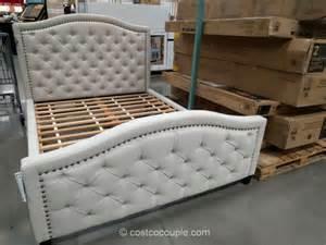 pulaski upholstered bed