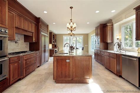 kitchen design cherry cabinets pictures of kitchens traditional medium wood kitchens