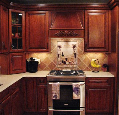 kitchen wine pictured backsplash retro wine kitchen decor